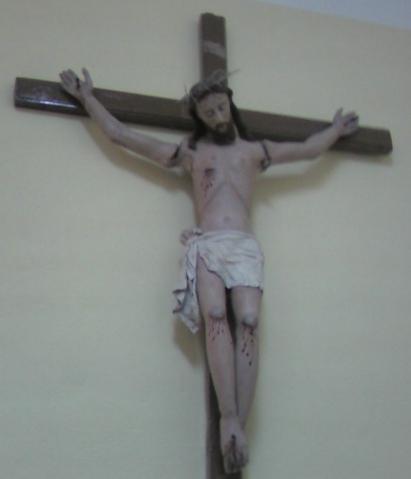 Milena. Chiesa Madre - Il Crocifisso