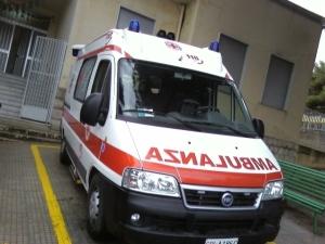 L'ambulanza del PTE di Milena