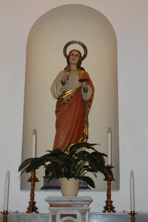 statua di Santa Lucia /Foto Enzo Scozzaro