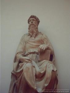 """DONATELLO: """"SAN GIOVANNI EVANGELISTA"""" - Firenze Museo dell'Opera del Duomo (1415)"""