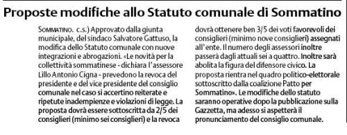 modifiche statuto
