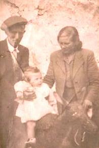 Maria Matranga con il marito Giuseppe Provenzano e il figlio Gioacchino