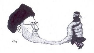 repressione in iran
