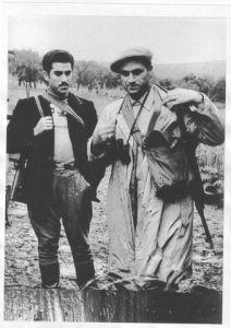 Giuliano e Pisciotta (con i baffi)