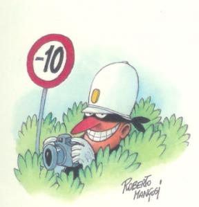 """Tutto ciò in palese violazione dell'articolo 183 del Dpr 16.02.1992 n.495 (Regolamento di attuazione del Codice della Strada), il quale recita che """"gli agenti preposti alla regolazione del traffico e gli organi di polizia stradale di cui all'art.12 del codice, durante i servizi previsti dall'art.11, commi 1 e 2, quando operano sulla strada devono essere visibili a distanza, sia di giorno che di notte""""."""
