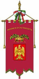 150px-Provincia_di_Caltanissetta-Gonfalone