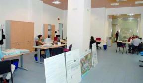 La sede di Caltaqua a Caltanissetta