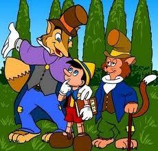 Resultado de imagen de il gatto e la volpe