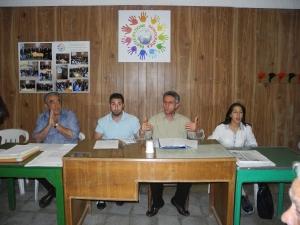 da destra Grazia Noto, Francesco Baldi, Giuseppe Cannella, Lillo Vaccaro