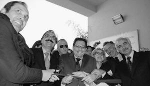 L'inaugurazione della Radioterapia nella sede dell'ex ospizio marino alla presenza del presidente della Regione Rosario Crocetta.E' stata anche la prima uscita ufficiale del sindaco Angelo Fasulo dopo l'infortunio