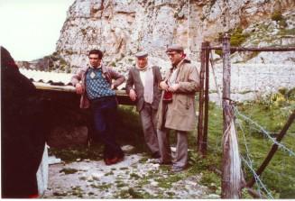 da sinistra: Giuseppe Palumbo, Arturo Petix, Vincenzo La Rosa