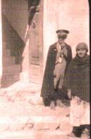 Giuseppe Palumbo (Peppi la guardia) e  Rosalia Alfano ('a zà Ruslaia a callarara)
