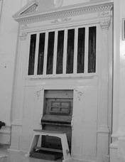 L´organo a canne ubicato nella chiesa Santa Maria del Rosario di Montedoro