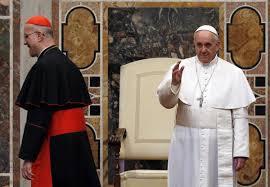 Il Papa e il cardinal Bertone