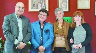 da sin. Michele Ferraro, Luigi Scarnato, Giuseppe Mannino e Rosa Maria Chiarello