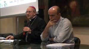 il vescovo Russotto e mons. La Placa