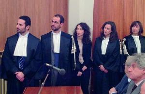 Davide Spina, Salvatore Palmeri, Maria C. Gennaro, Rossella Vittorini e Valentina Amenta
