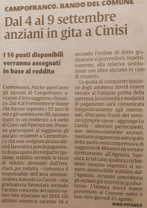 campofranco cinisi