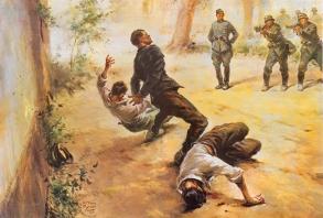 Vittorio Pisani, I Carabinieri Marandola, Sbarretti e La Rocca si sacrificano a Fiesole