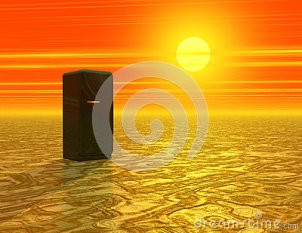 deserto-con-il-frigorifero-37283200
