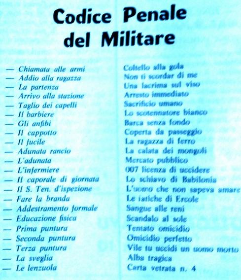 cdice penale militare