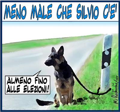 MENO ,MALE CHE SILVIO C'E'- ANIMALI