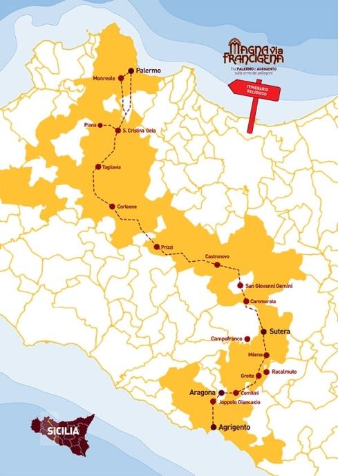 via-Francigena-Magna-Grecia-Cartina-Percorso