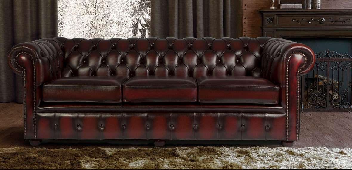 Clericetti: divano di vera pelle | Milocca - Milena Libera