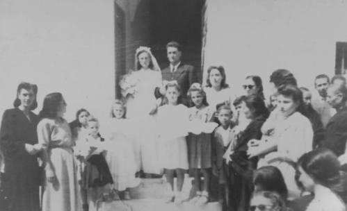 Arturo Petix nel 1949 si stabilisce a Milena dove il 14 Settembre sposa Nicoletta Tulumello.